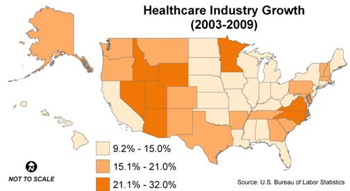 healthcare-map
